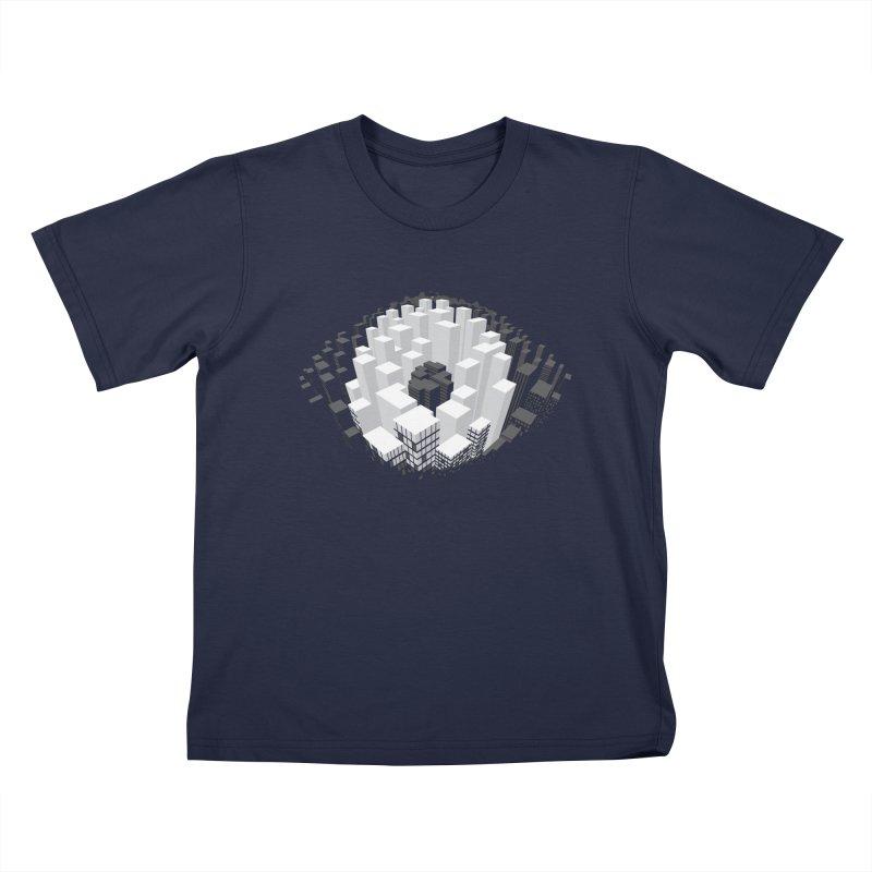 Bird's Eye View Kids T-Shirt by B4 Abraham's Artist Shop