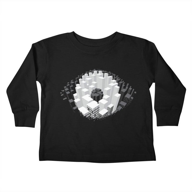 Bird's Eye View Kids Toddler Longsleeve T-Shirt by B4 Abraham's Artist Shop