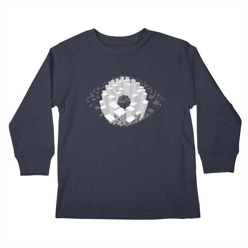 Bird's Eye View Kids Longsleeve T-Shirt by B4 Abraham's Artist Shop