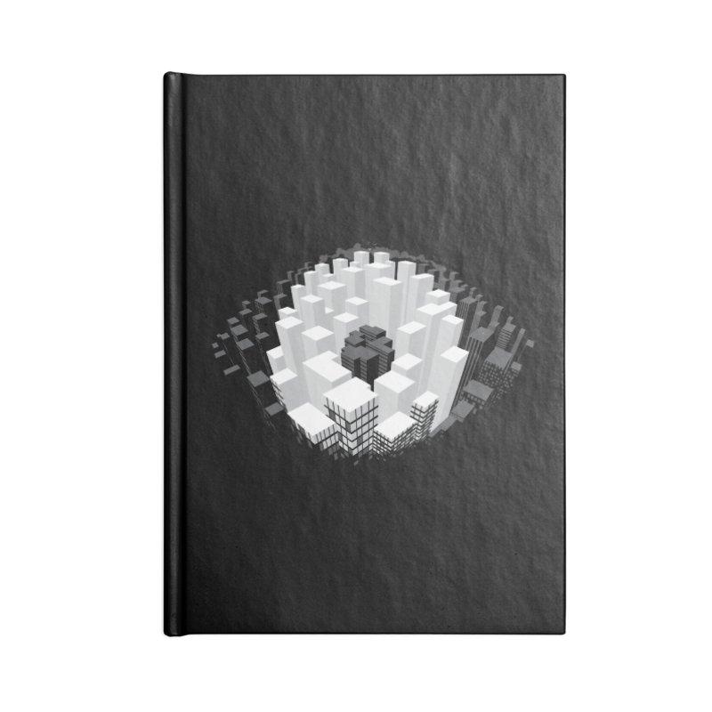 Bird's Eye View Accessories Notebook by B4 Abraham's Artist Shop