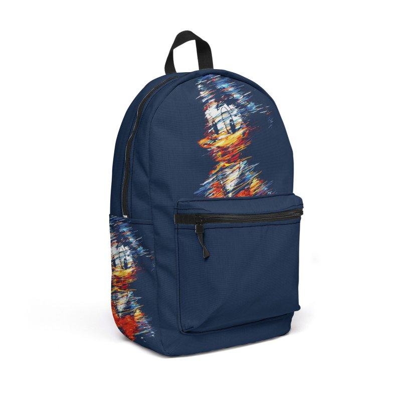 Digital Donald Duck Accessories Bag by B4 Abraham's Artist Shop