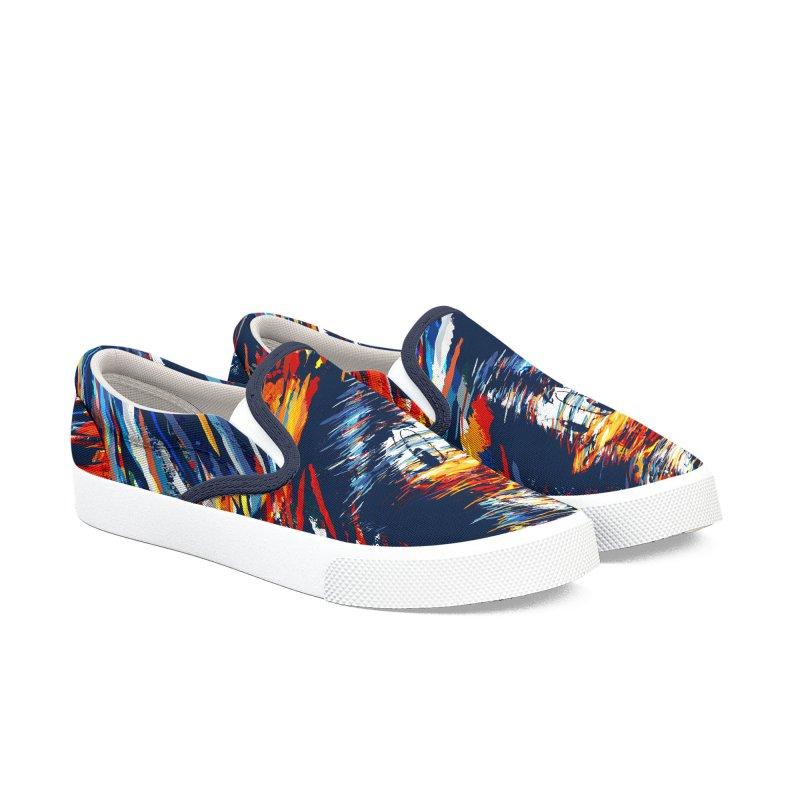 Digital Donald Duck Men's Shoes by B4 Abraham's Artist Shop