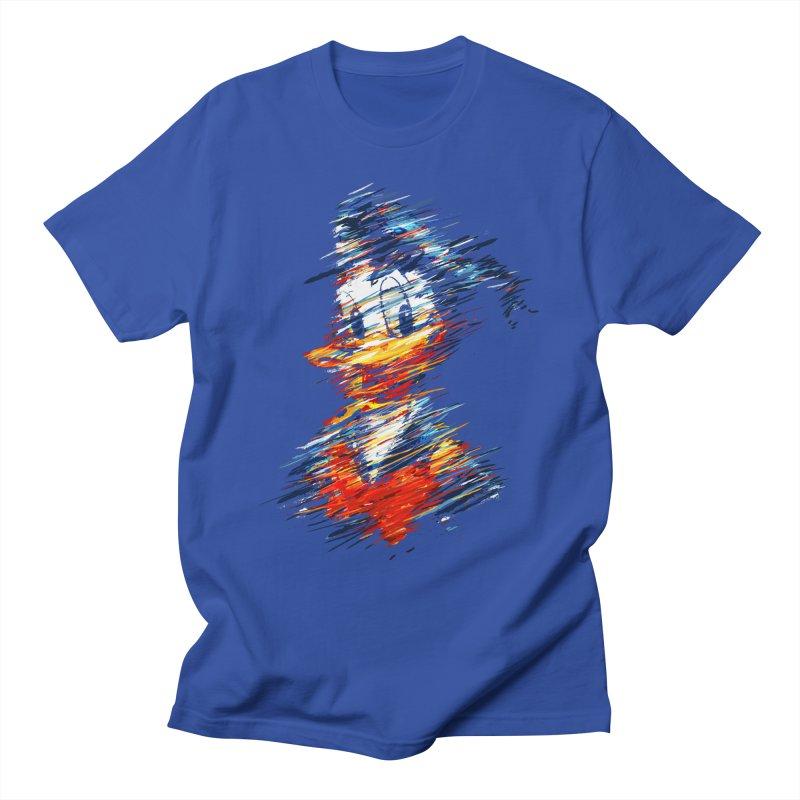 Digital Donald Duck Men's T-Shirt by B4 Abraham's Artist Shop