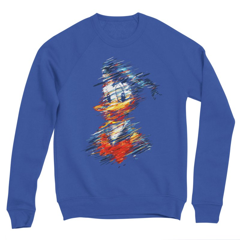 Digital Donald Duck Men's Sweatshirt by B4 Abraham's Artist Shop