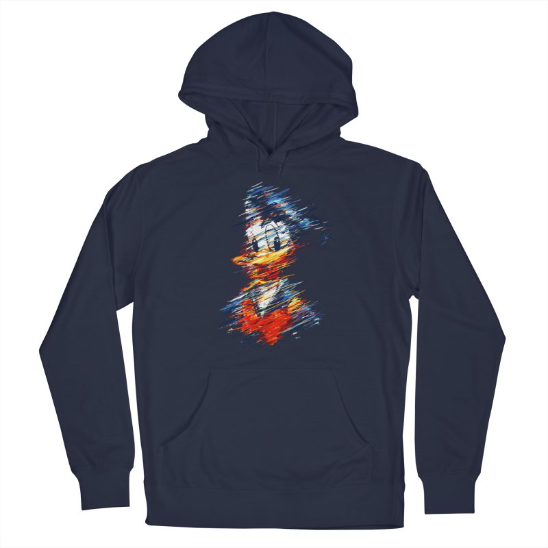 Digital Donald Duck Men's Pullover Hoody by B4 Abraham's Artist Shop