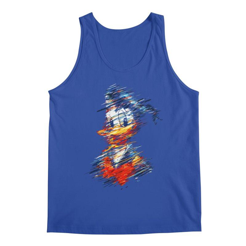 Digital Donald Duck Men's Tank by B4 Abraham's Artist Shop