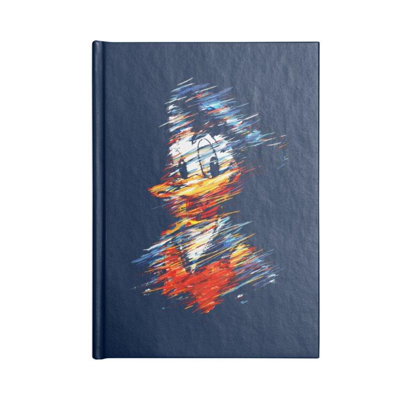 Digital Donald Duck Accessories Notebook by B4 Abraham's Artist Shop