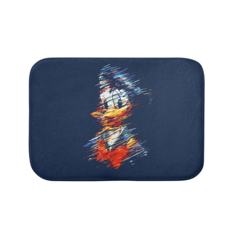 Digital Donald Duck Home Bath Mat by B4 Abraham's Artist Shop
