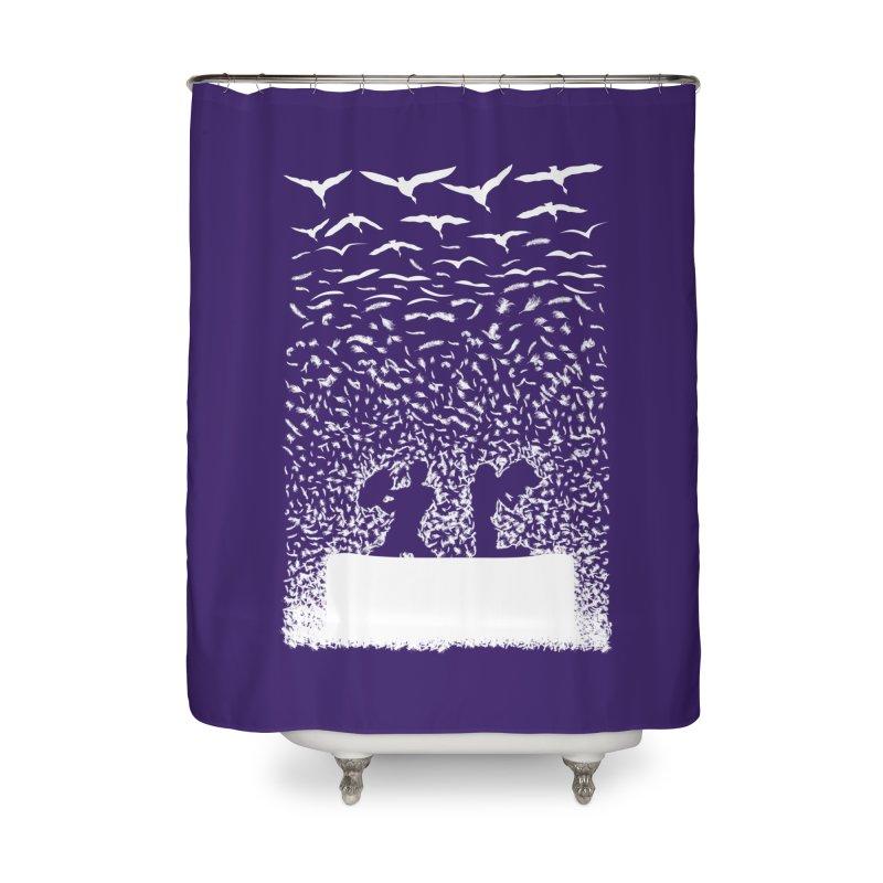 Pillow Fight Home Shower Curtain by B4 Abraham's Artist Shop