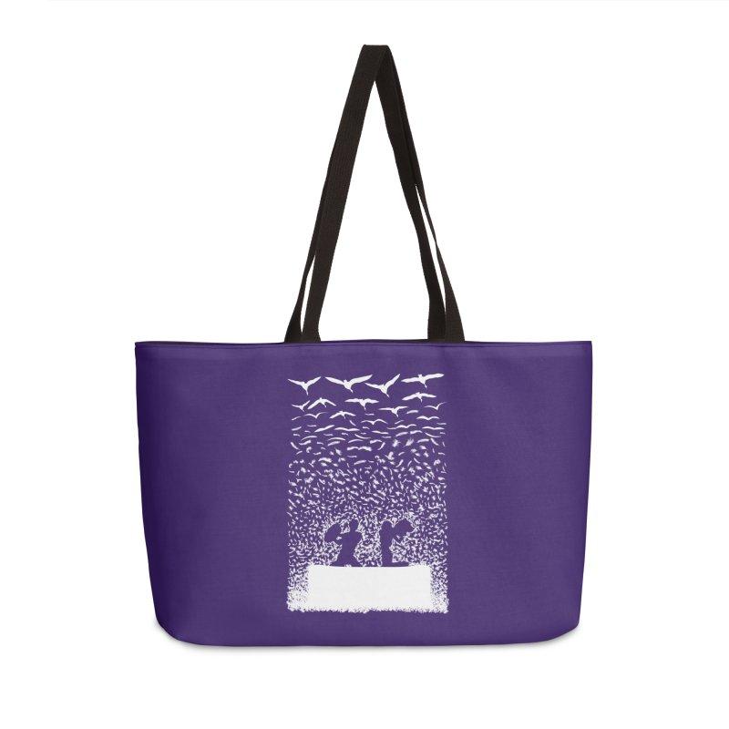 Pillow Fight Accessories Bag by B4 Abraham's Artist Shop