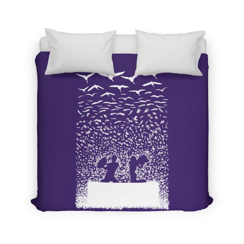 Pillow Fight Home Duvet by B4 Abraham's Artist Shop