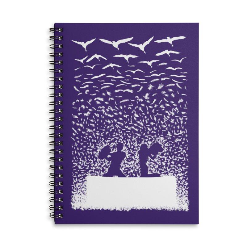 Pillow Fight Accessories Notebook by B4 Abraham's Artist Shop