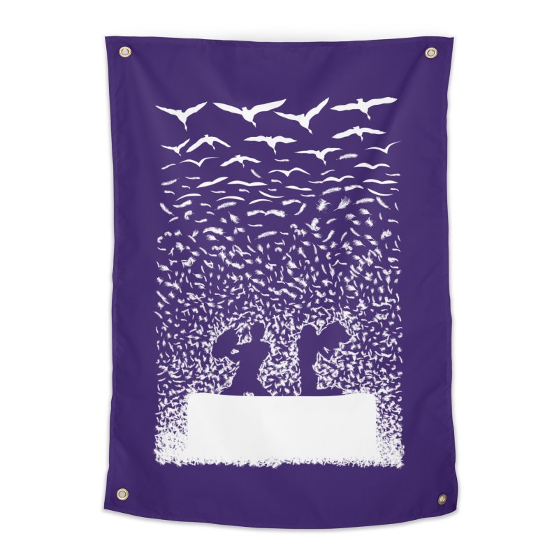 Pillow Fight Home Tapestry by B4 Abraham's Artist Shop
