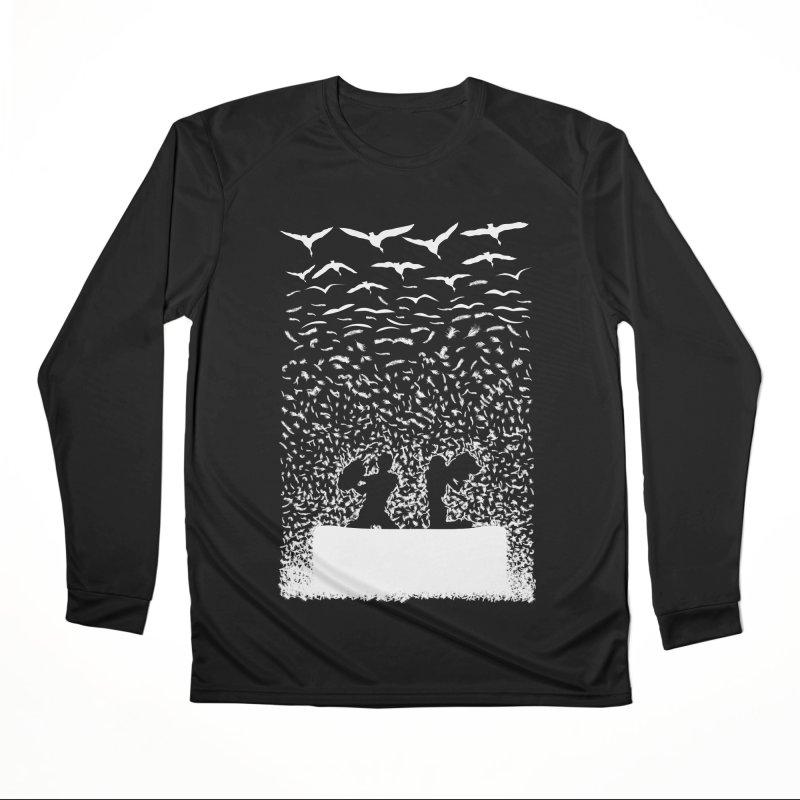 Pillow Fight Women's Longsleeve T-Shirt by B4 Abraham's Artist Shop