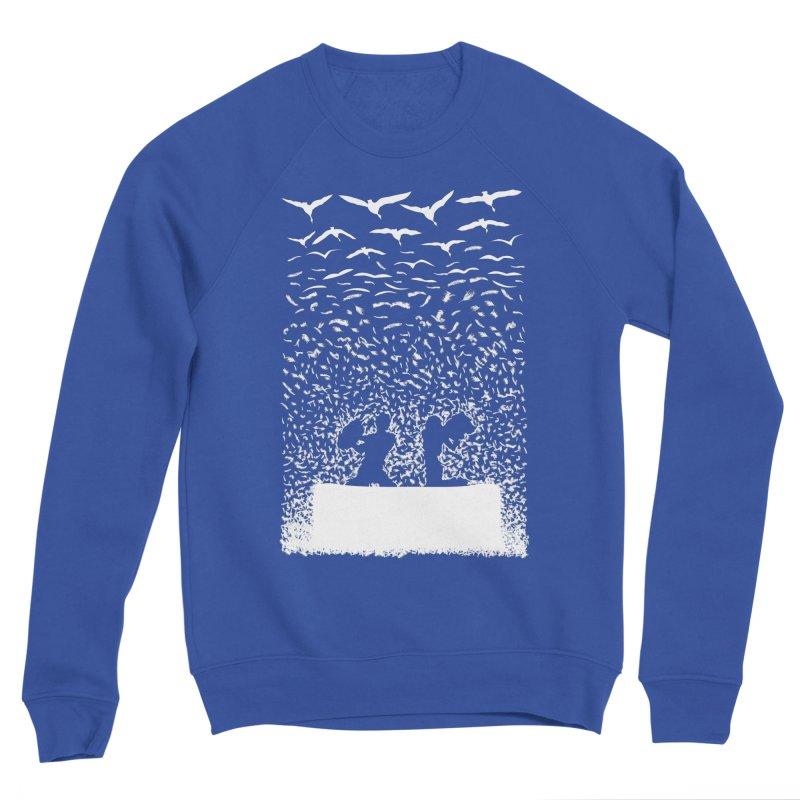 Pillow Fight Men's Sweatshirt by B4 Abraham's Artist Shop