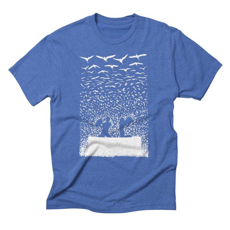 Pillow Fight Men's T-Shirt by B4 Abraham's Artist Shop