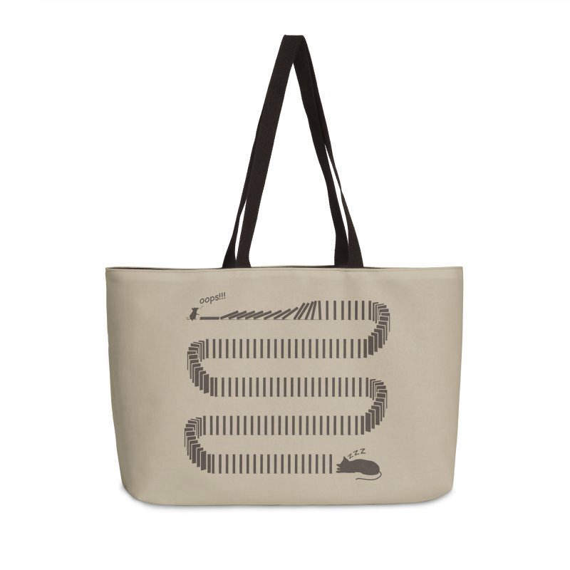 The Domino Effect Accessories Bag by B4 Abraham's Artist Shop