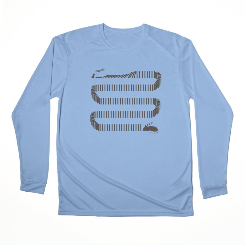 The Domino Effect Women's Longsleeve T-Shirt by B4 Abraham's Artist Shop