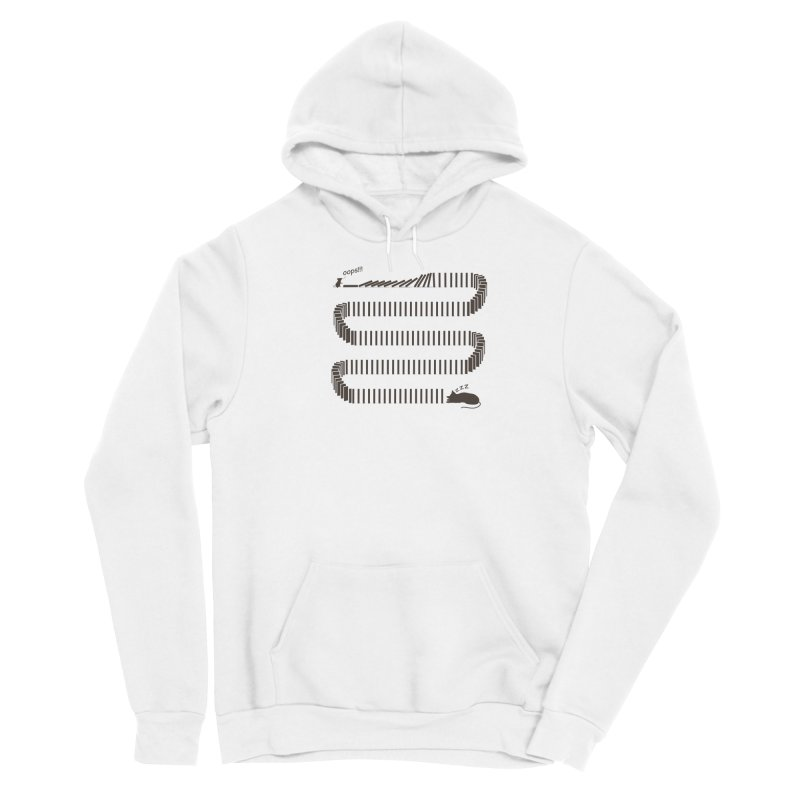 The Domino Effect Women's Pullover Hoody by B4 Abraham's Artist Shop
