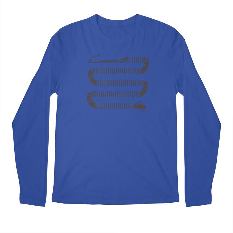The Domino Effect Men's Longsleeve T-Shirt by B4 Abraham's Artist Shop