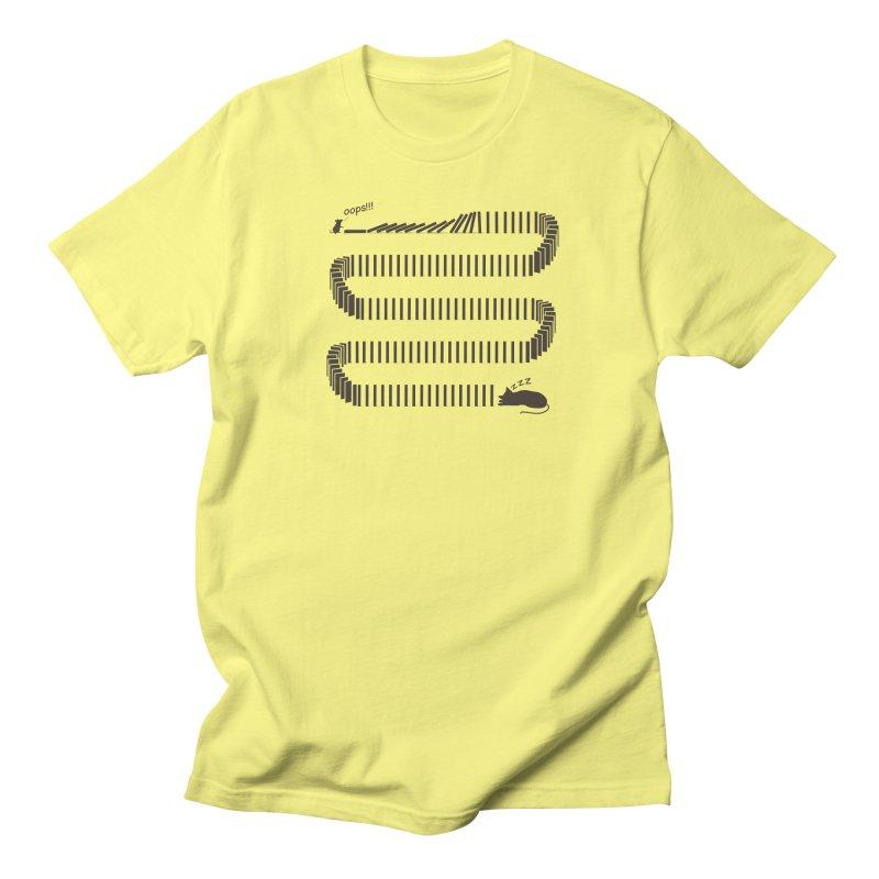 The Domino Effect Men's T-Shirt by B4 Abraham's Artist Shop