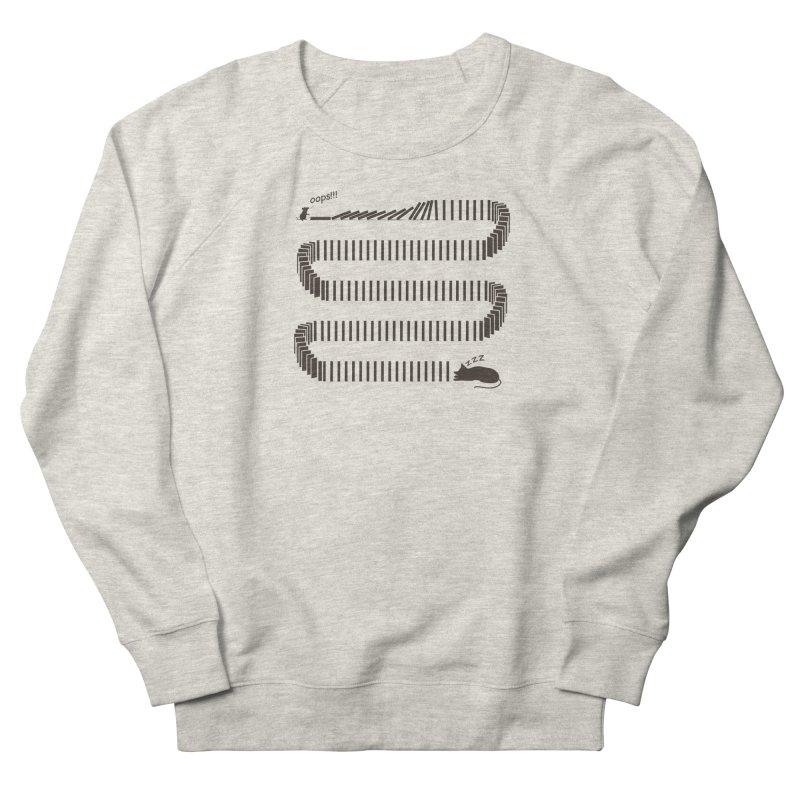 The Domino Effect Women's Sweatshirt by B4 Abraham's Artist Shop