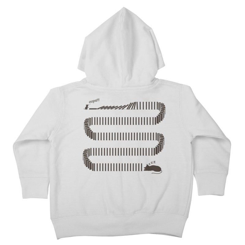 The Domino Effect Kids Toddler Zip-Up Hoody by B4 Abraham's Artist Shop