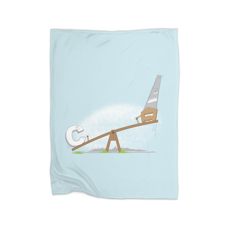 C-saw Home Blanket by B4 Abraham's Artist Shop