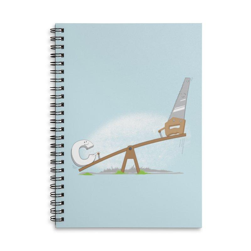 C-saw Accessories Notebook by B4 Abraham's Artist Shop