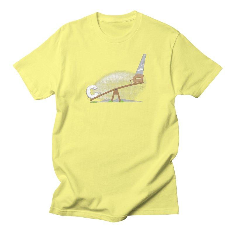 C-saw Men's T-Shirt by B4 Abraham's Artist Shop