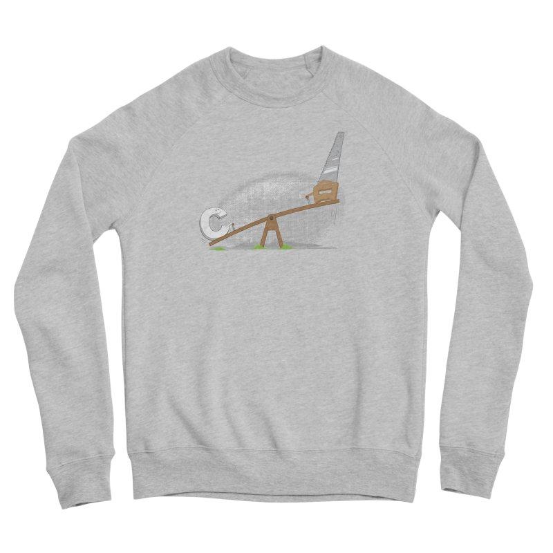 C-saw Men's Sweatshirt by B4 Abraham's Artist Shop