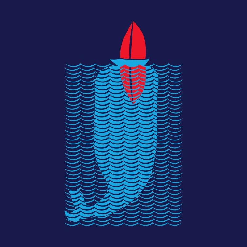 Stealth Whale Men's T-Shirt by B4 Abraham's Artist Shop