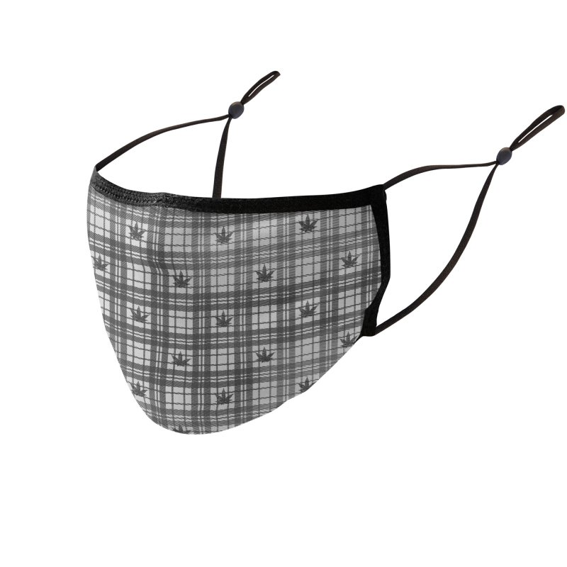 Gentlemen Pattern 2 Accessories Face Mask by B4 Abraham's Artist Shop