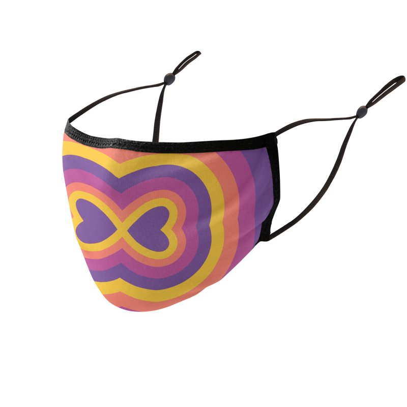 Infinite Love Accessories Face Mask by B4 Abraham's Artist Shop