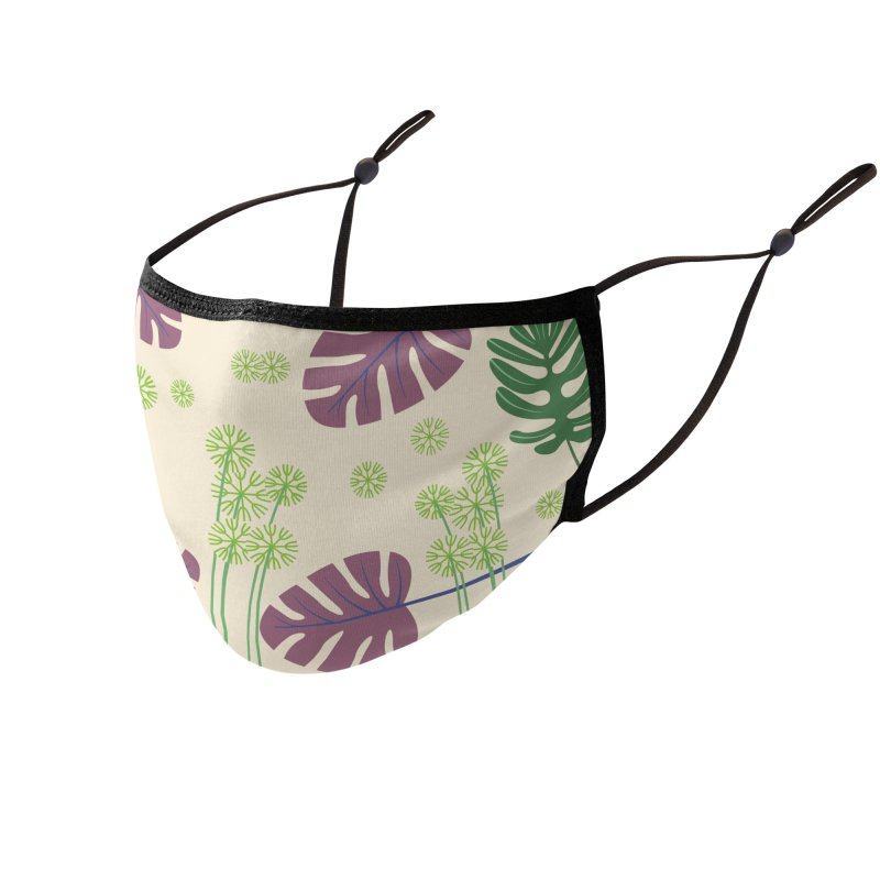 Protective Flowers Accessories Face Mask by B4 Abraham's Artist Shop