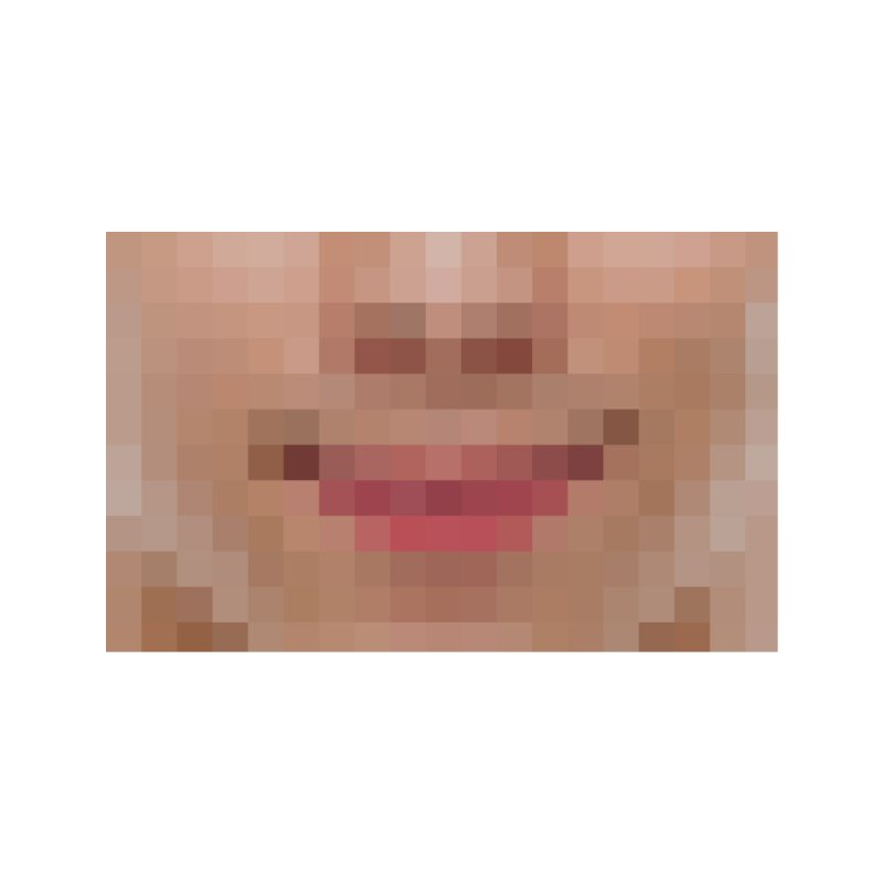 Pixel Mask Accessories Face Mask by B4 Abraham's Artist Shop