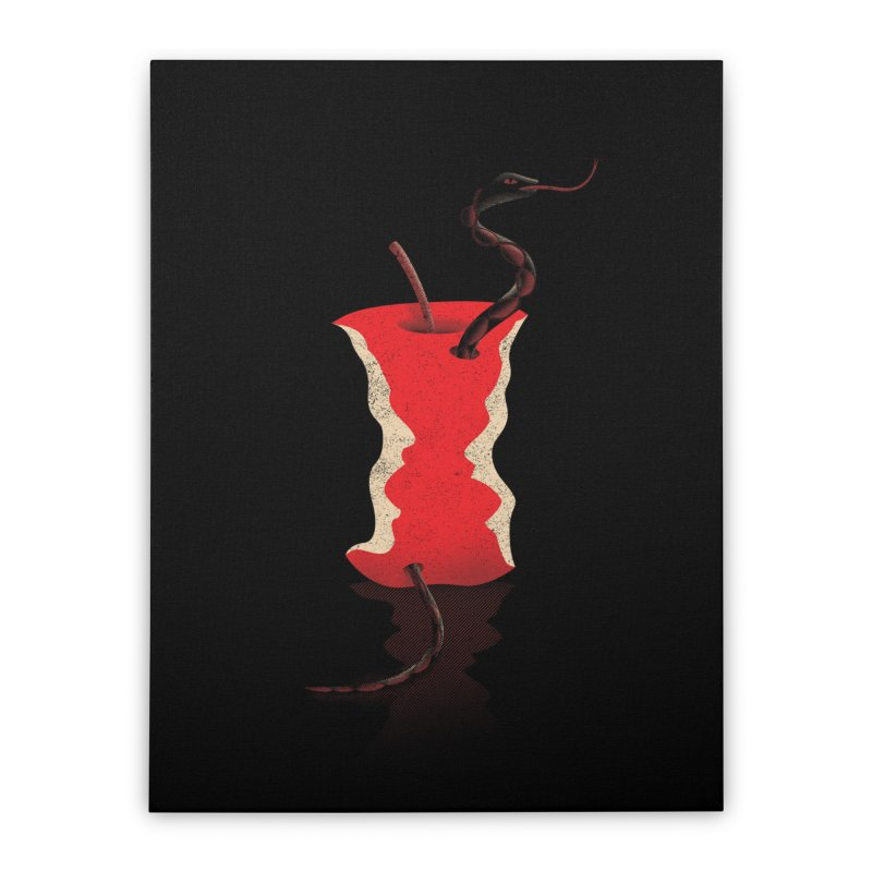 1st Sin Home Stretched Canvas by B4 Abraham's Artist Shop