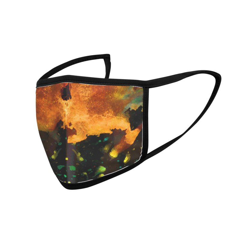 Tuo Rorschach Accessories Face Mask by B4 Abraham's Artist Shop