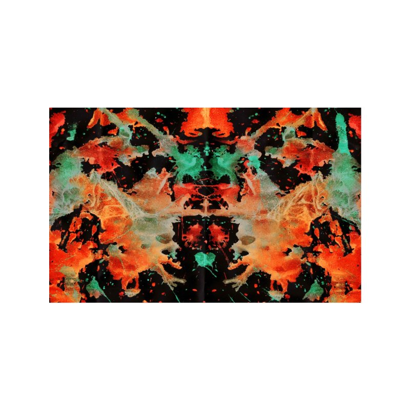 Tapa Rorschach Accessories Face Mask by B4 Abraham's Artist Shop