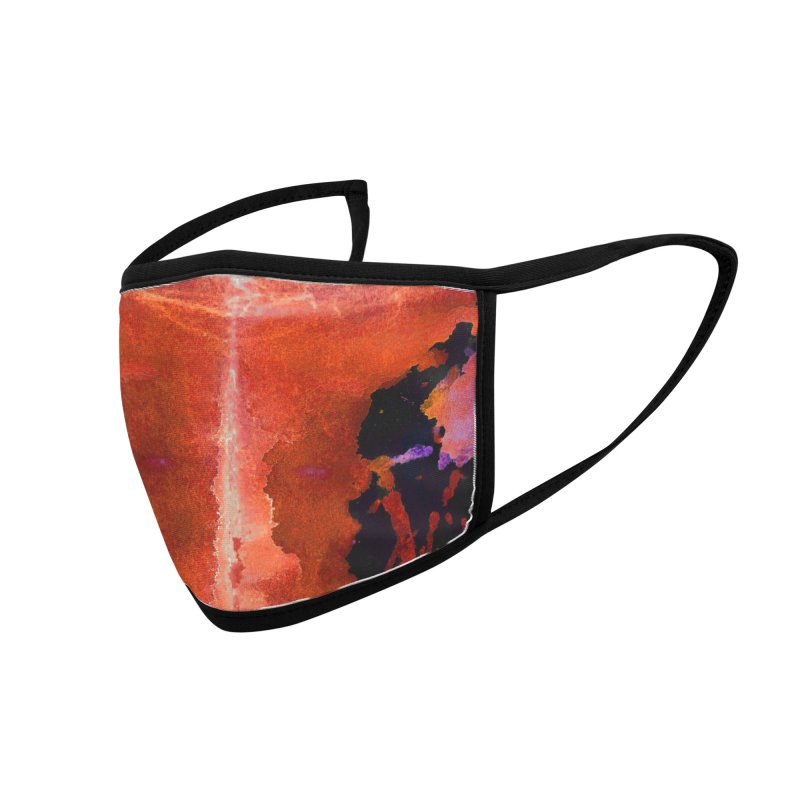 Lawa Rorschach Accessories Face Mask by B4 Abraham's Artist Shop