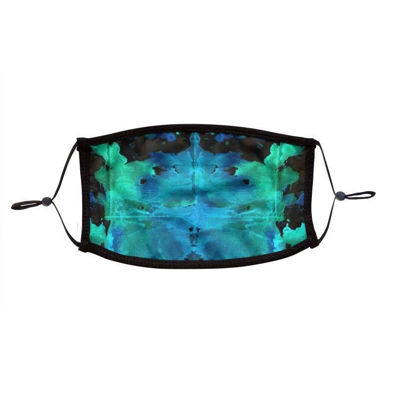 Inko Rorschach Accessories Face Mask by B4 Abraham's Artist Shop