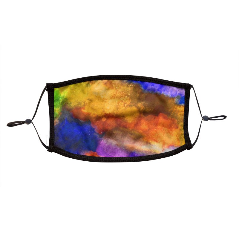 Kirp Rorschach Accessories Face Mask by B4 Abraham's Artist Shop