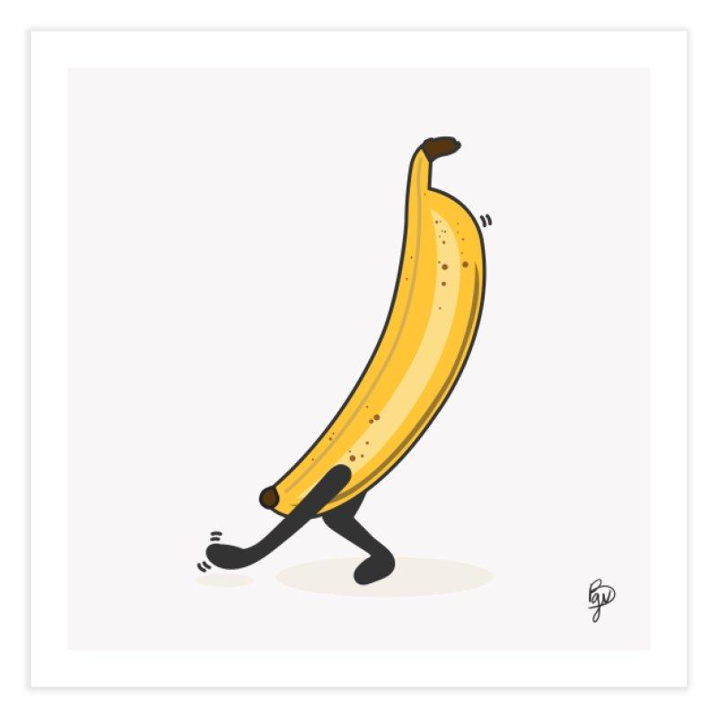 Dancing Banana Home Fine Art Print by Vince Baarson's Artist Shop