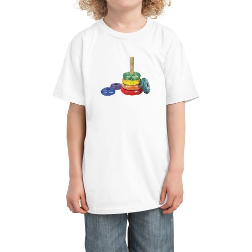 Design for Rainbow stacking toy