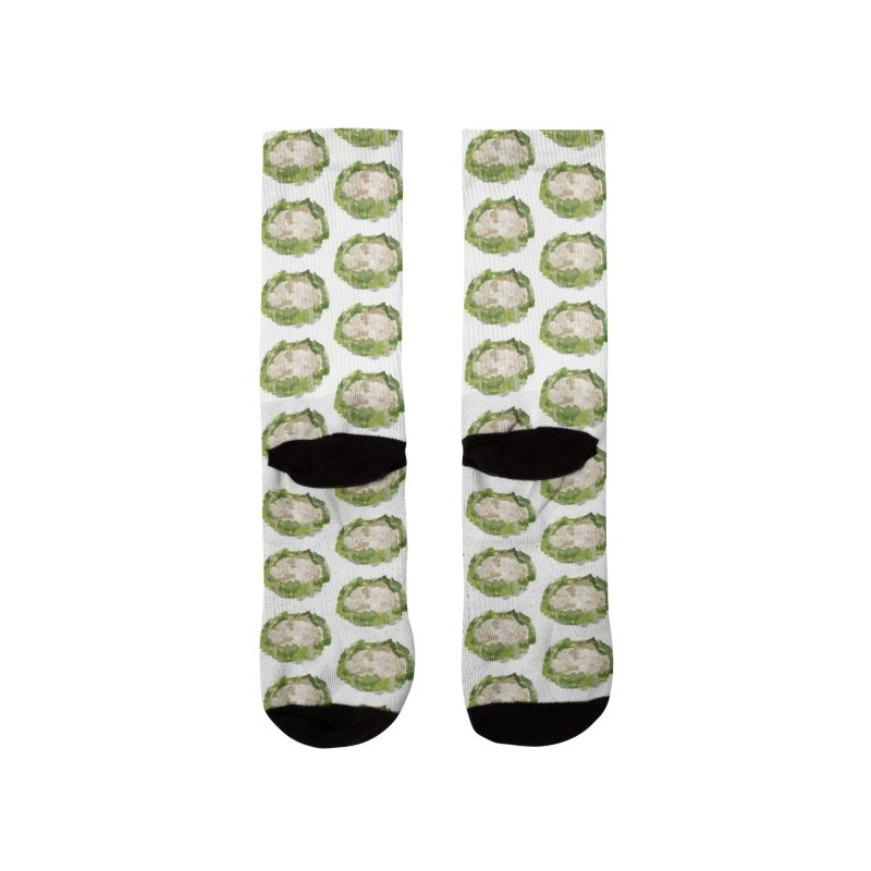 Cauliflower Men's Socks by babbangaelg