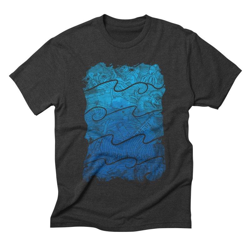 Thousand Stories Men's Triblend T-shirt by babitchun's Artist Shop