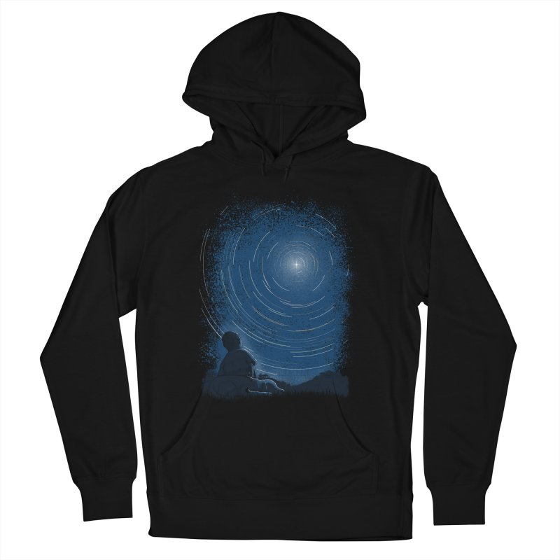 North Stare Men's French Terry Pullover Hoody by babitchun's Artist Shop