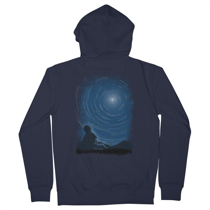 North Stare Men's French Terry Zip-Up Hoody by babitchun's Artist Shop