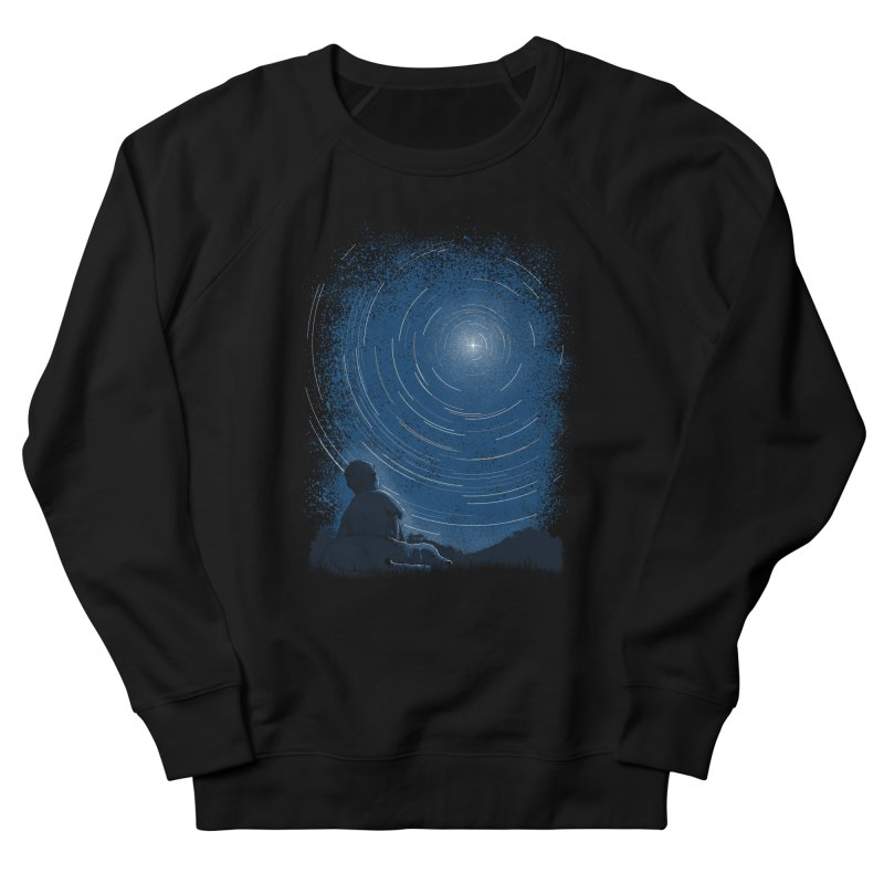 North Stare Men's French Terry Sweatshirt by babitchun's Artist Shop