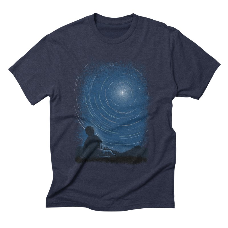 North Stare Men's Triblend T-shirt by babitchun's Artist Shop